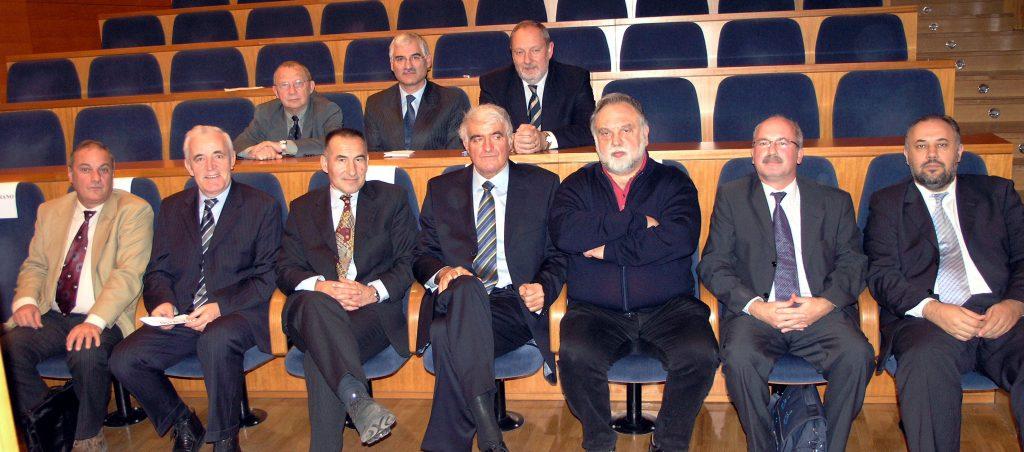 Upravni odbor Hrvatskog društva za štitnjaču 2005. godine