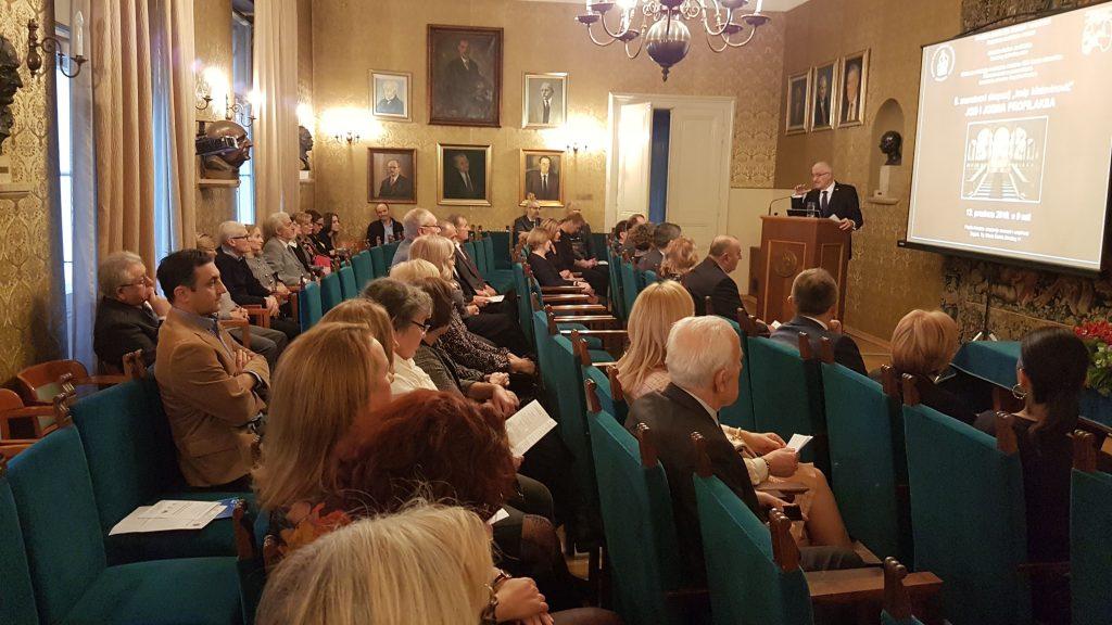 Predavanje predsjednika Društva akademika Zvonka Kusića